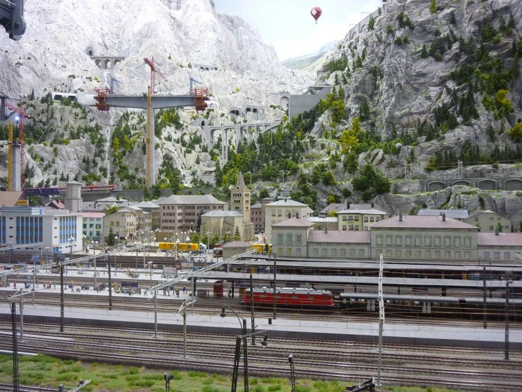 Tagebuch vom Bau einer Modelleisenbahn  Miniatur Wunderland