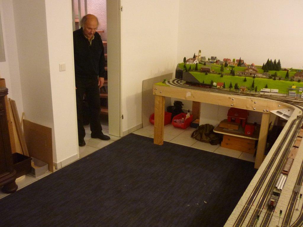 Tagebuch vom Bau einer Modelleisenbahn  Teppich